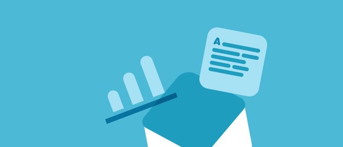 Osservatorio Statistico: l'oggetto ideale per l'email